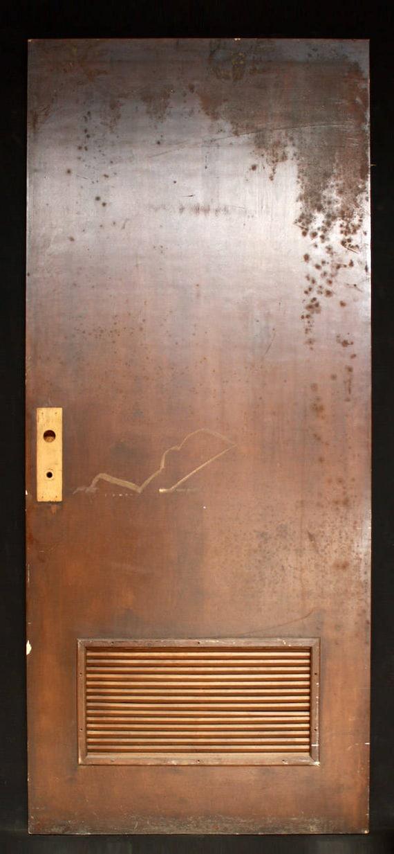 36x84 Vintage Antique Interior Solid Wood Wooden Door Etsy