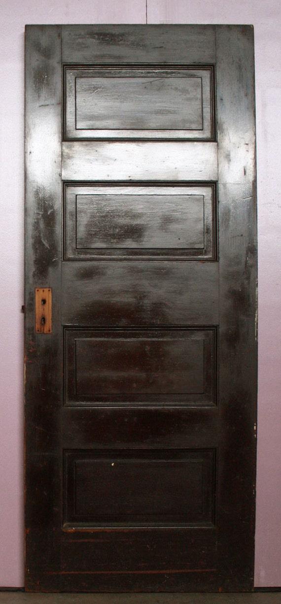 image 0 - 30x74 Antique Interior Solid Wood Wooden Oak Door Etsy