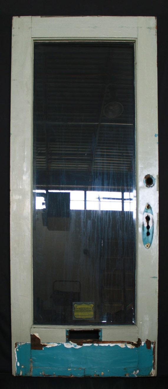 """28/""""x83/""""1.75/"""" Antique Vintage Interior SOLID Wood Wooden Closet Door Single Panel"""