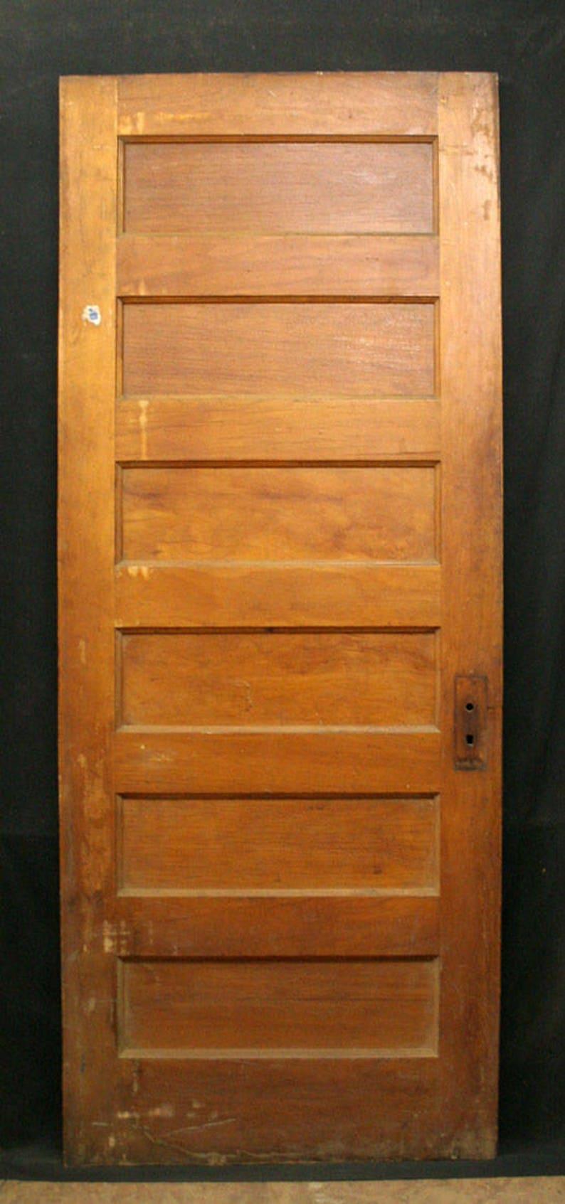 image 0 & 32x79 Antique Vintage Interior Solid Wood Wooden | Etsy