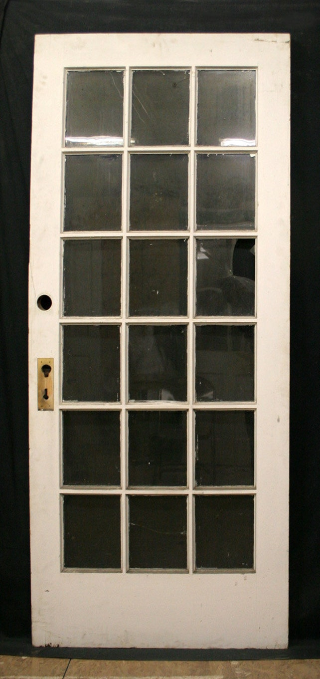 36x83 Antique Exterior Chestnut French Entry Door Etsy