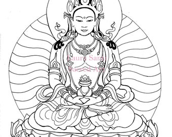 Coloring Book Page Etsy