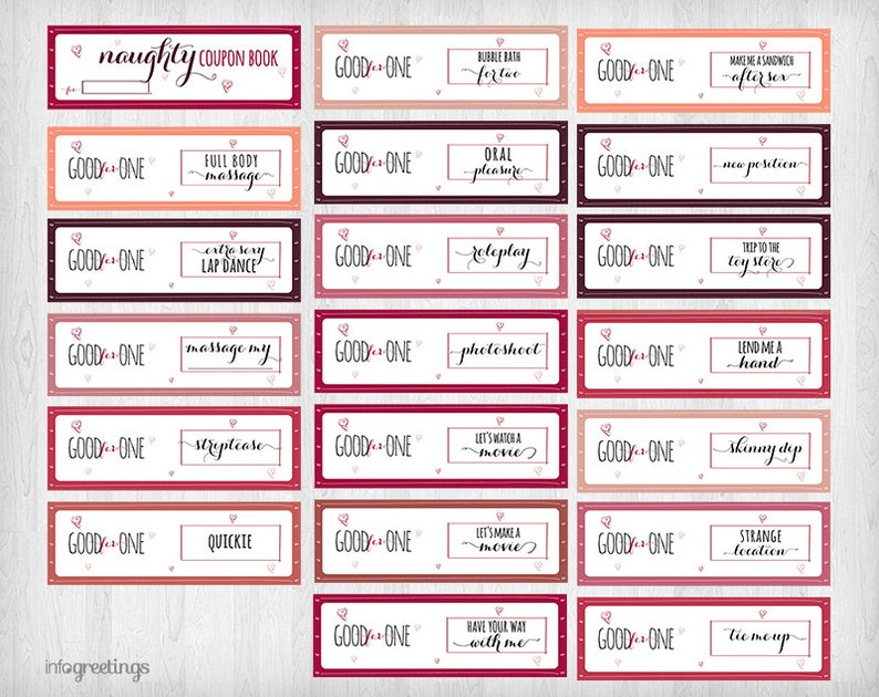 graphic regarding Goody Printable Coupons called Printable NAUGHTY Discount codes for boyfriend, partner, large other -Grownup- Quick Obtain