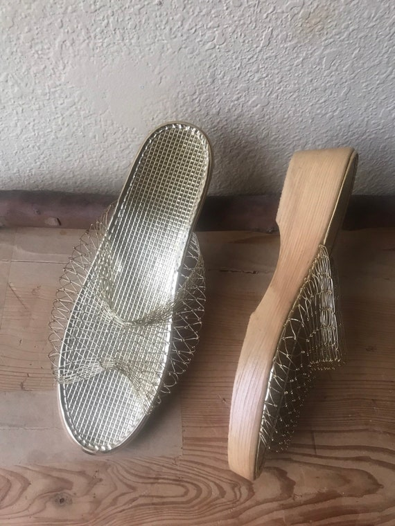 "Gold slip on Shoes, Gold Shoes, Women""s Shoes, Gol"