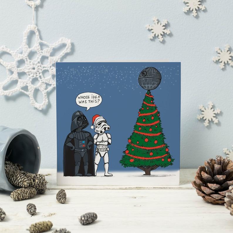 Elektronische Weihnachtskarten Mit Musik.Star Wars Weihnachtskarte
