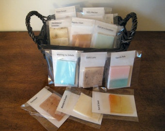 Ten Soap Samples - Try Before You Buy