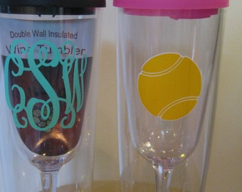 c3f153a87be Super FAST Personalized XL Vino2go 12 oz. insulated tumblers