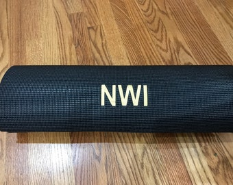 Personalized Yoga Mat Extra thick 1/4'' (6.2 mm)