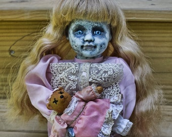 Solita (OOAK Horror Porcelain Doll)