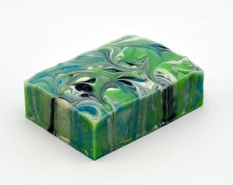 Fresh & Green: Cucumber and Avocado Vegan Soap