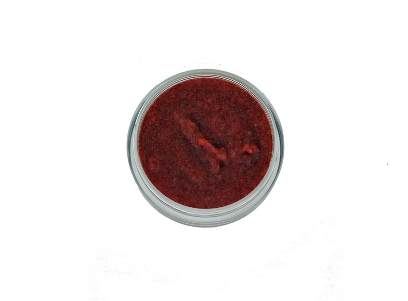 Organic Lip Scrub Sugar and Cranberry: Berry Buffer image 0
