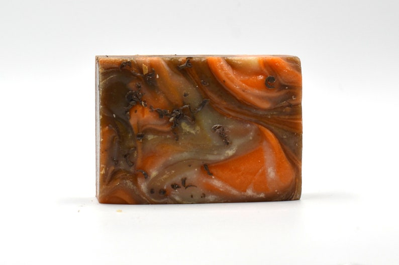 Chocolate and Orange Natural Vegan Soap: Confection Affection image 0