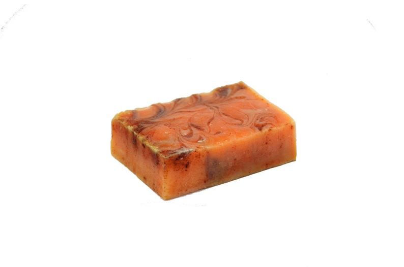Tofu Lemongrass and Black Rice Vegan Bar Soap: Soy Happy image 0