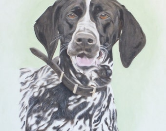 Custom portrait of your horse, dog or loved one. Original Oil Painting on quality stretchered canvas by International artist Allen Richings