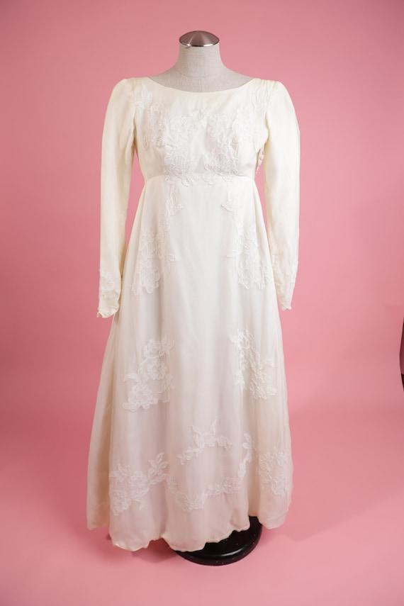 Vintage Wedding Dress 1950's Wedding Dress Vintage
