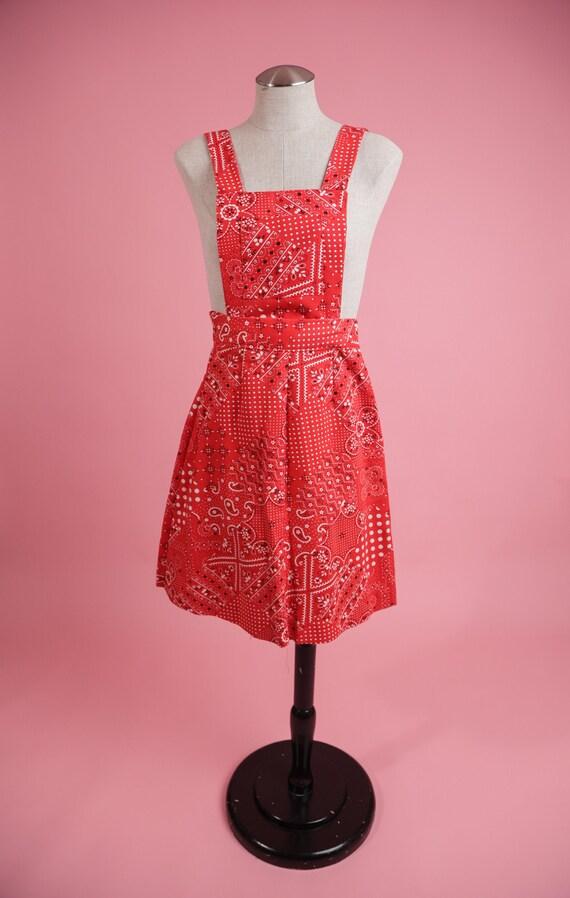 Vintage xxs 70's Dress / Vintage 1970's patchwork