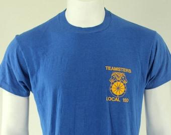 80's Teamsters Local 150 for Sacrament CA T-Shirt L XL