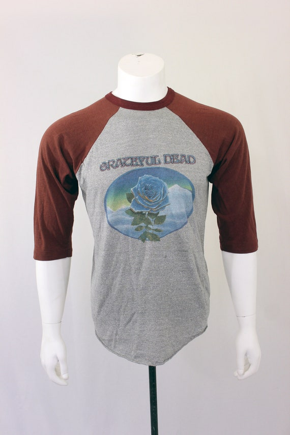 80's Grateful Dead 1981 T-Shirt Raglan