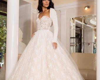 Bridal bolero, Bridal Shrug, Bridal Cover up, Ivory Wedding sweater, vegan wedding shrug,Express shipping
