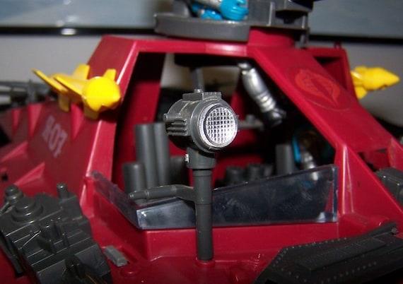 CUSTOM RED Lens for GI Joe Spotlight fits Cobra Moray Hydrofoil search light