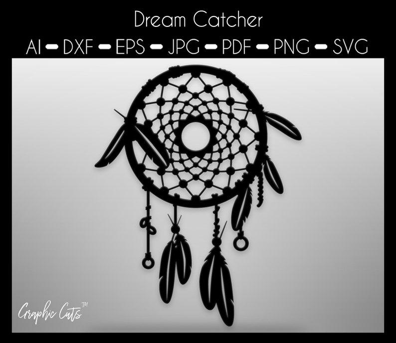 png pdf eps Boho svg Dreamcatcher Svg Dream catcher svg Boho Dreamcatcher with Feathers Svg Digital File for Silhouette dxf jpg