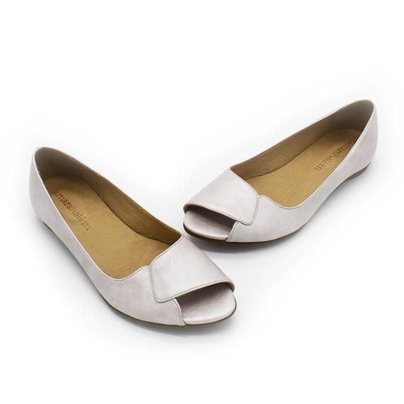 leather shoes bridal Aya ivory High qaulity shoes Znw4qxvHfx