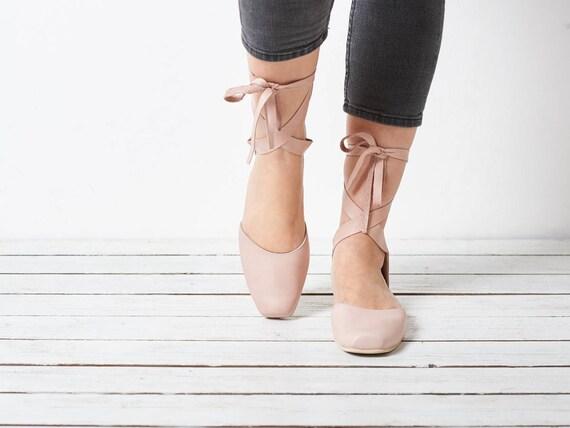 brides shoes shoes Blush pink shoes ballerina ana leather pink shoes ballerina X4w0qYnSU0