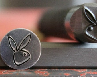 Advantage Series Bunny Metal Design Stamp - Made In The USA - Available In 2 Different Sizes - For use on Stainless Steels - SGAD-37