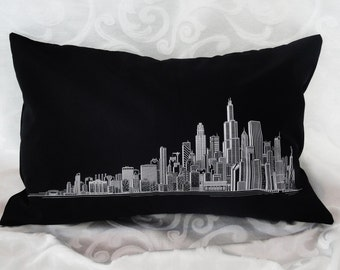 Chicago Skyline Pillows