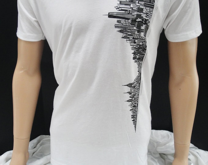 Featured listing image: New York Skyline T-shirt V-neck
