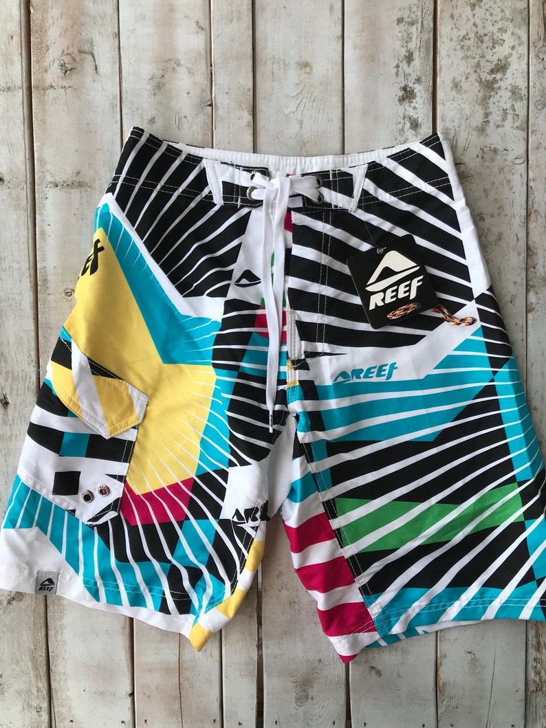 Board 24 Size Vintage Short Perfect The Reef BeachBoys Retro For OkZTiPuX