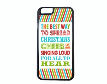Buddy The Elf Christmas Cheer Phone Case! Choose iPhone 5/5s, 5c, 6/6s, 6/6s Plus, 7, 7 Plus, 8 or 8 Plus.