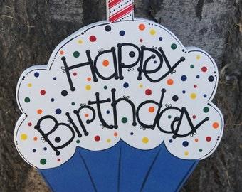 SMALL - Happy Birthday Yard Stick/Pot Stick