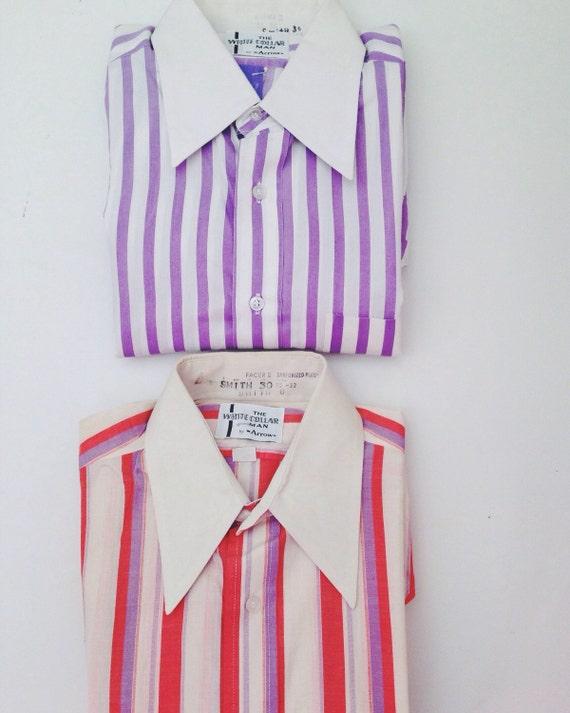Vintage Men's Button Down Shirts.