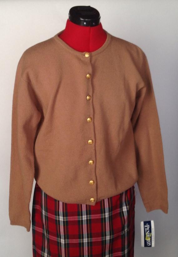 Vintage Wool Pendelton Cardigan
