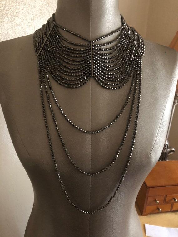 Amazingly beautiful beaded necklace.