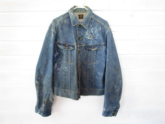 1970s 'Lee Riders' 101J Union Made Denim Jacket  -