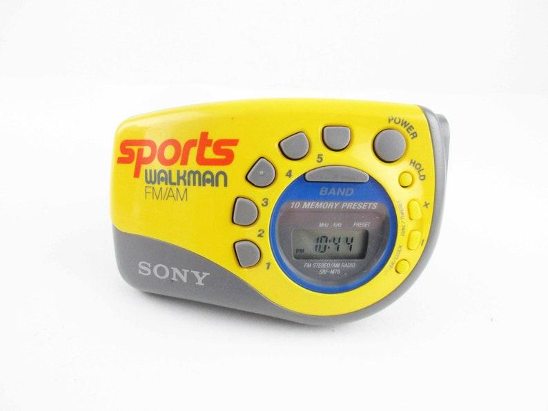 A Working 'Sony Walkman' - Sports FM/AM Portable Radio - Wrist Model Sony  Walkman - 1950s - Ready to Use - Good Condition