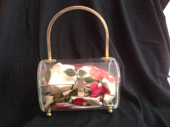 1950's Clear Lucite Bag