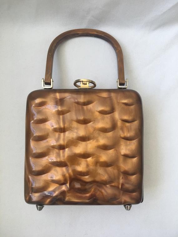 Vintage Lucite Hand Bag
