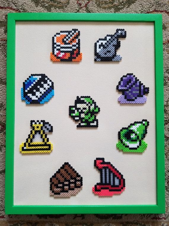 The Legend of Zelda: Link\'s Awakening...Instruments of the | Etsy