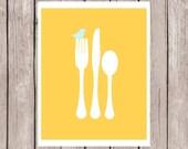 Items Similar To Kitchen Art Prints 3 8x10 Prints Sunny