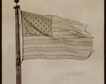 American Flag Art Etsy
