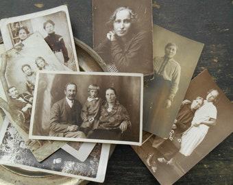 Vintage Soviet Photograph a lot Set of 9 Vintage photograph Black and white photos set Assorted vintage photo lot