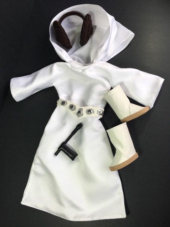 Star Wars Leia muñeca de princesa Leia disfraz de princesa | Etsy