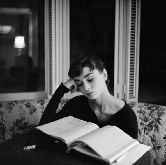 Image result for audrey reading