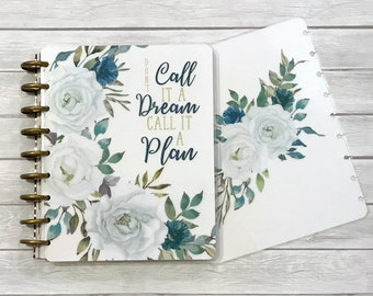 MAMBI Classic Happy Planner Cover Set - Laminated MAMBI Cover - MAMBI Planner Cover - Disc Bound Cover - Call It A Plan