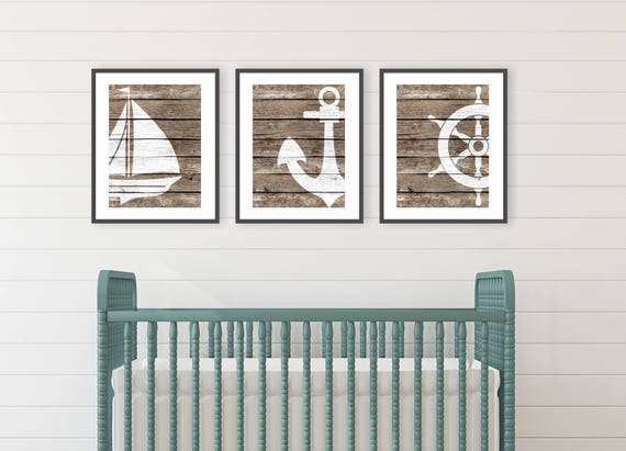 Rustic Beach Decor Beach Bathroom Decor Ocean Nursery