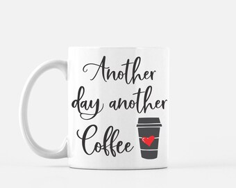 Funny Coffee Mug For Work Mug For Friend Gift For Coworker, Mugs With Sayings, Coffee Gift For Her, Ceramic Coffee Cup, Boss Gift for Him