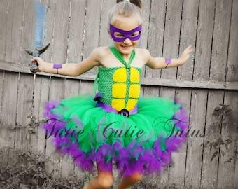 Teenage Mutant Ninja Turtle Tutu Dress Costume NB-8